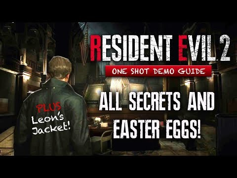 Resident Evil 2 Remake Demo ALL SECRETS & Easter Eggs You May Have Missed | Leon's Jacket & More! - UCoBS-YX2Hd9ZLtsPEd6Kdnw