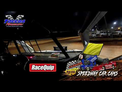 #25 Roger Mealey - Open Wheel - 10-23-21 Toccoa Raceway - In-Car Camera - dirt track racing video image