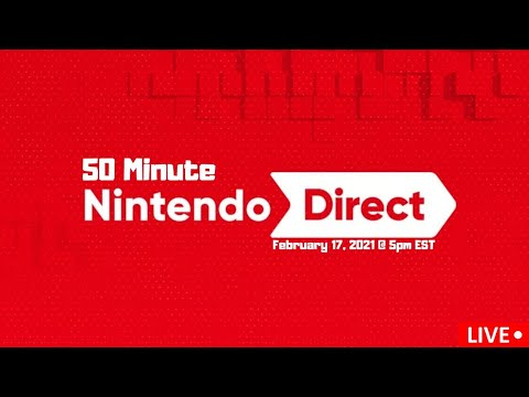 My Reactions: Nintendo Direct 2.17.2021   Super Smash Brothers Ultimate and More! Live