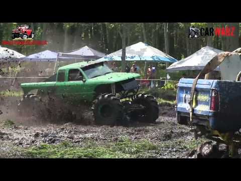 Green Skimmer Skims The Pits At Perkins Summer Sling Mud Bog 2018