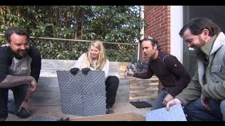 Diamond Grid-Loc Tiles Featured On DIY Yard Crashers