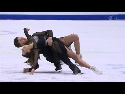 Габриэлла Пападакис - Гийом Сизерон. Произвольный танец. Чемпионат Европы по фигурному катанию