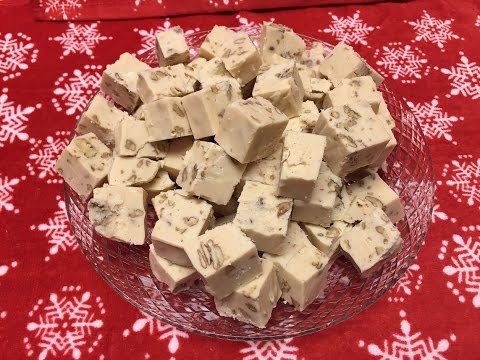 How to make White Chocolate Pecan Fudge Tutorial