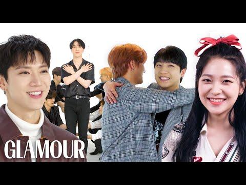 SuperM, NCT 127, Red Velvet, and More K-Pop Stars Take a Friendship Test | Glamour