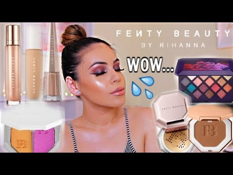 FULL FACE OF FENTY BEAUTY BY RIHANNA: HITS + MISSES! PRODUCTS WORTH YOUR MONEY | JuicyJas - UCqTR5f7YkGro3cPv23SqcqQ