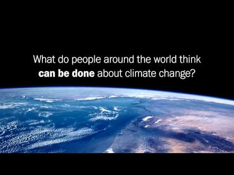 What does the world think about climate change?