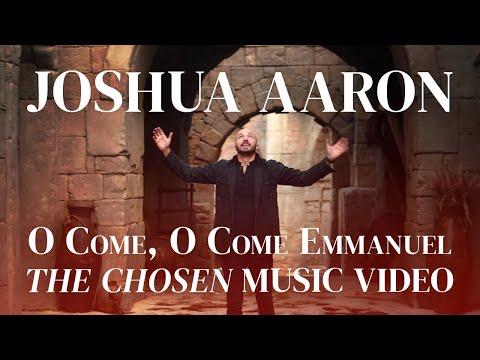 Joshua Aaron - O Come, O Come Emmanuel (English & Hebrew) (*OFFICIAL @The Chosen Music Video)