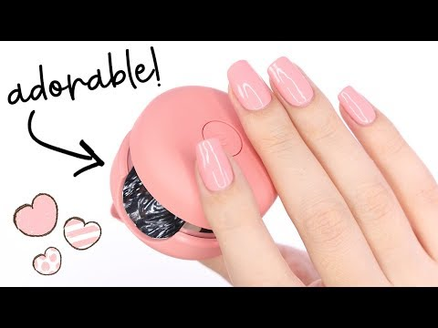 WOW! The CUTEST Gel Polish Nail Kit: Le Mini Macaron!