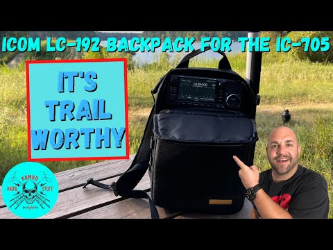 Gear Review   Icom LC-192 Backpack for IC-705