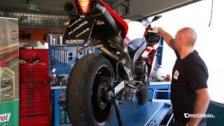 Come cambiare olio motore Yamaha Yzf-R1