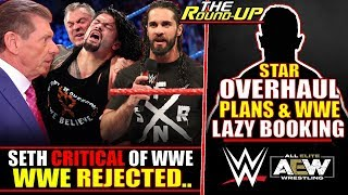 WWE REJECTED! Top Star CRITICAL Of Creative Work, Stars OVERHAUL & LAZY Booking - The Round Up