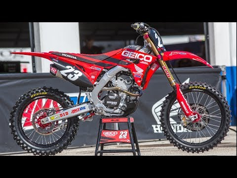 Inside Chase Sexton's Factory Geico Honda CRF250R - Motocross Action Magazine