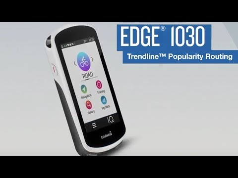 Garmin Edge® 1030 Tutorial – Trendline™ Popularity Routing