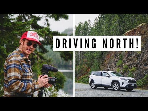 Northern VANCOUVER ISLAND travel vlog   Driving to PORT ALICE, BC