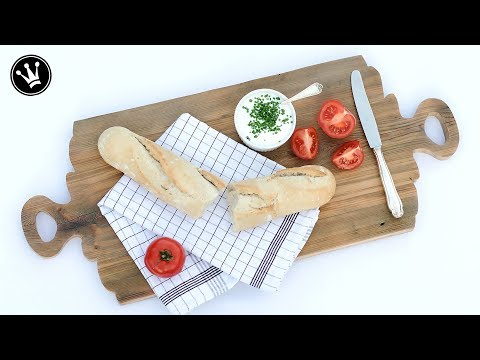 DIY – Holzbrett im Farmhouse Stil selber machen   Tablett   Dekorieren und Servieren   How to