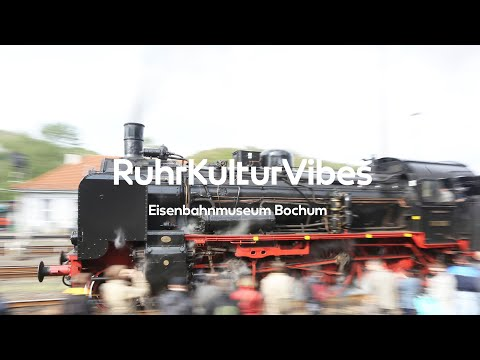 RUHR KULTUR VIBES - Workout im Eisenbahnmuseum Bochum