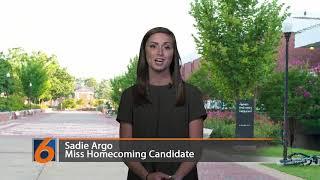 Miss Homecoming Candidate Sadie Argo