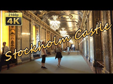 Visiting the Royal Castle in Stockholm - Sweden 4K Travel Channel - UCqv3b5EIRz-ZqBzUeEH7BKQ