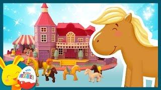 Les chevaux - Jouet Polly Pocket et l'histoire pour les enfants - Touni Toys