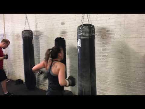Saturday cardio kickboxing blast