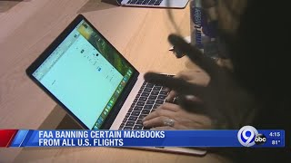 FAA bans certain Macbook Pro laptops from U.S. flights