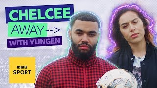 Chelcee Away: Yungen talks football lyrics and breaking up with Sterling - BBC Sport