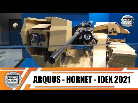 IDEX 2021 ARQUUS from France launches new division to market Horner Remote-Controlled Weapon Systems
