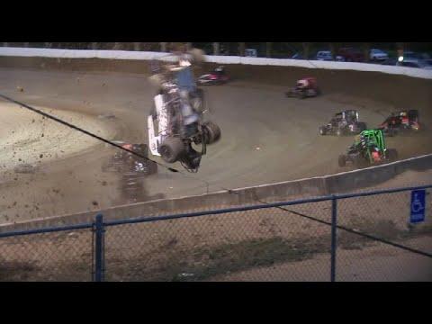 Crash Compilation Vol.20 - dirt track racing video image