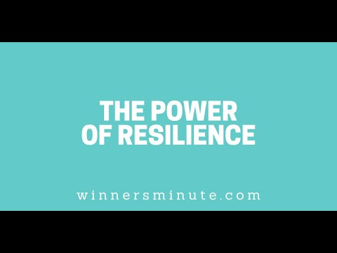 The Power of Resilience // The Winner's Minute With Mac Hammond