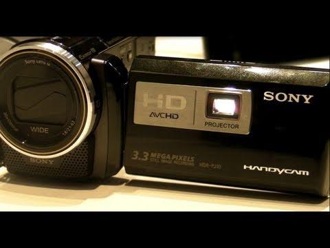 Camcorder mit Beamer: Der Sony HDR-PJ10 auf der CES 2011 - UCgAPgHNmQSG_ySHRiOVeF4Q