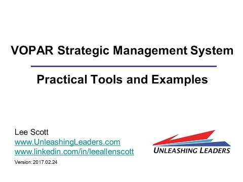 GTI2017 Sn25b: VOPAR Strategic Management - Unleashing Leaders