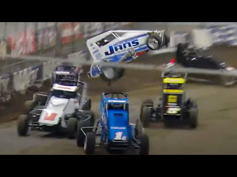 LIVE: Thursday At 2021 Lucas Oil Chili Bowl Nationals - dirt track racing video image