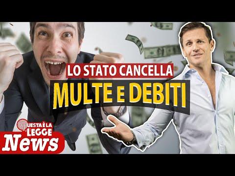 Lo Stato CANCELLA MULTE e DEBITI | Avv. Angelo Greco
