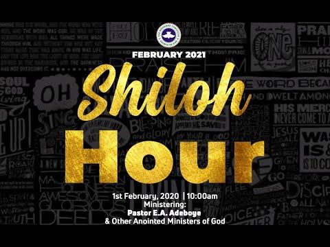 RCCG FEBRUARY 2021 SHILOH HOUR