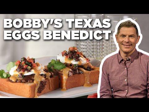 Bobby Flay S Texas Eggs Benedict Brunch Bobby S Food Network 9ja Breed Food