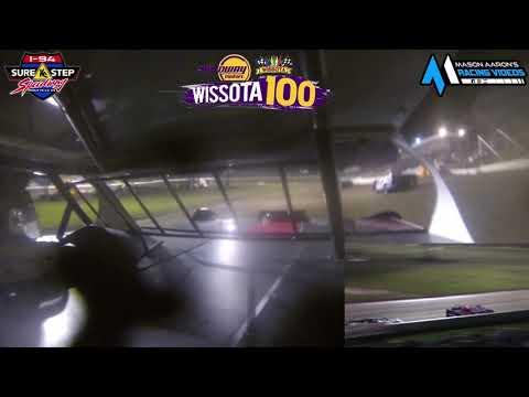 #21 Trevor Saurer WISSOTA Super Stock On-Board @ WISSOTA 100 (9/18/21) - dirt track racing video image