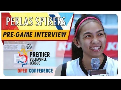 PVL OC 2018: Nicole Tiamzon | BKP | BKP vs. PGZ | Pre-game Interview