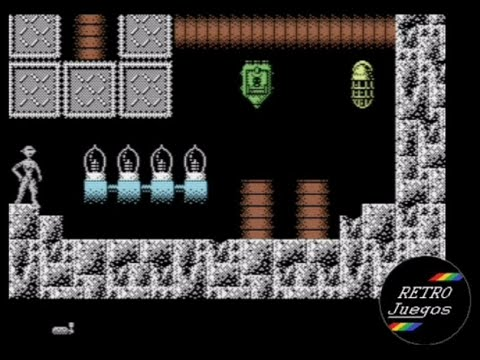 RETROJuegos Homebrew ... Synthia In the Cyber Crypt (Commodore 64) - Review por Fabio Didone