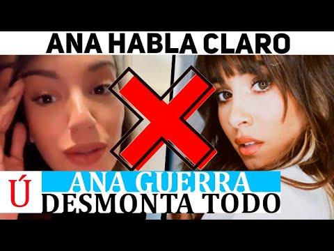 "Ana Guerra destapa la gran mentira sobre Aitana y el especial de Nochevieja ""En mi vida…"""