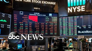 Dow plunges 800 points amid growing recession fears | ABC News