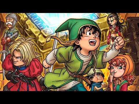 Dragon Quest 7: Fragments of the Forgotten Past -Traveller's Tablets Demonstration - default