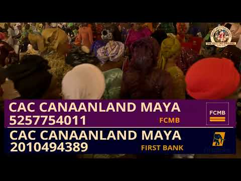 PROPHET/EVANG. HEZEKIAH OLADEJI MINISTERING LIVE @ CAC CANAAN LAND MAYA DISTRICT HEADQUARTERS,