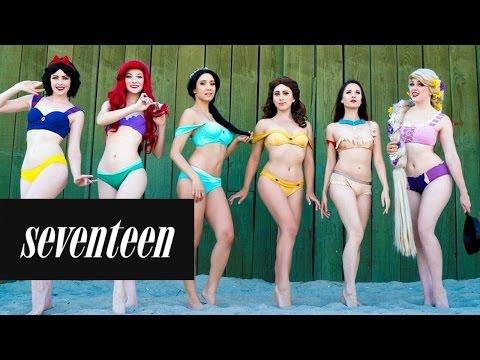 These Disney Princess Bikinis Are a Dream Come True