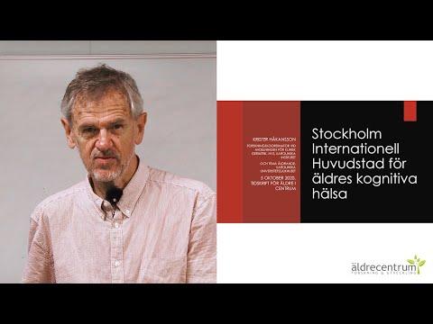 Samhället & äldre   Stockholm, internationell huvudstad för kognitiv hälsa