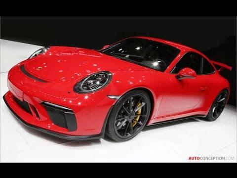 Car Design: 2018 Porsche 911 GT3