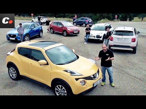 Mazda CX-3, Fiat 500X, Renault Captur, Nissan Juke, 2008, Mokka, C4 Cactus | Prueba SUV | coches.net