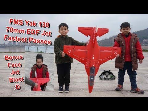 RC Yak 130 70mm EDF Electric RC Jet Fastest Passes - UCsFctXdFnbeoKpLefdEloEQ