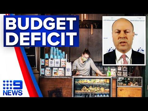 Australia records biggest budget deficit in history | 9 News Australia