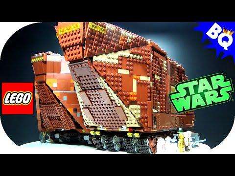 LEGO Star Wars UCS Sandcrawler 10144 75059 Comparison - default