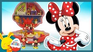 Prince et Princesse Mickey Minnie - Jouet Polly Pocket pour les enfants - Touni Toys